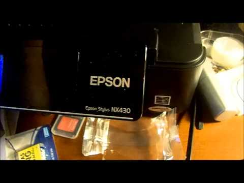 How To: Replace Ink in the Epson NX430 Small In One Printer