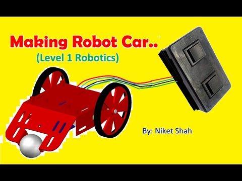 Simple Remote Control Robot making | सरल रिमोट नियंत्रण रोबोट बनाने