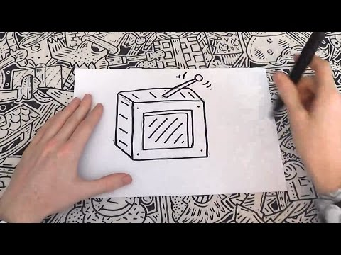 How To Doodle A Television