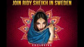 Ridy Sheikh in Sweden! Register for workshop now!