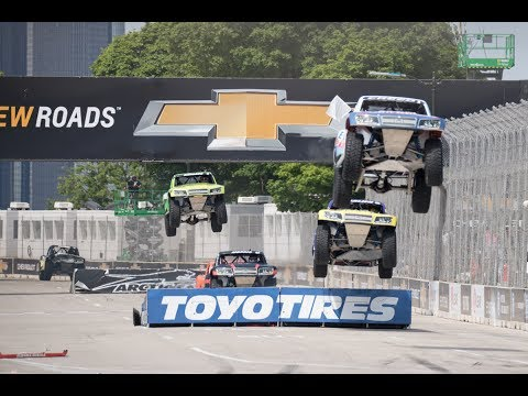 2017 Detroit - Stadium SUPER Trucks - CBS Sports Network