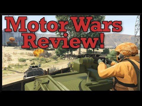 GTA 5: Motor Wars Adversary Mode Review! (New Smuggler's Run Battlegrounds Gamemode)