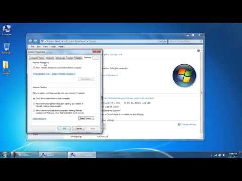 How to Turn on Remote Desktop in Windows 7