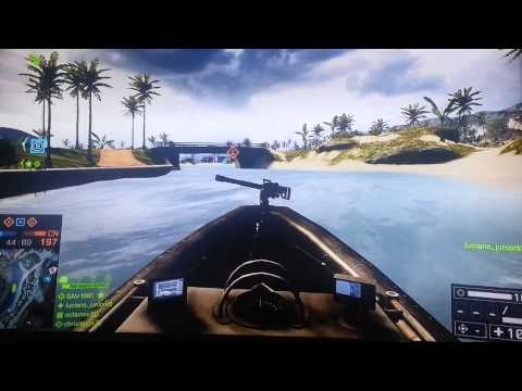 Battlefield 4 gameplay [conquista] PS3