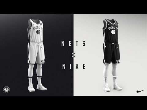Brooklyn Nets + Nike unveil new team jerseys