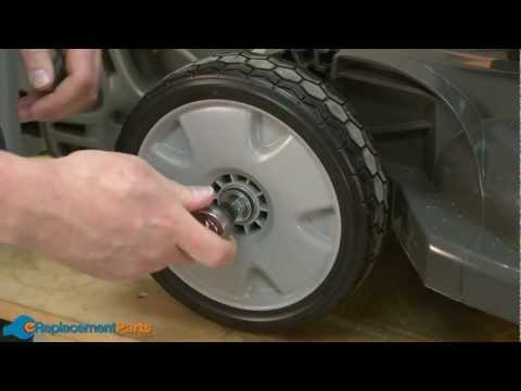 How to Replace the Front Wheel on a Honda HRX217 Lawn Mower