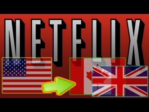 Watch US Netflix in UK Canada and Europe April 2014 PS3