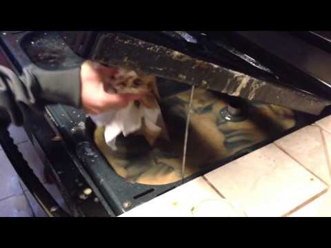 Clean under your stove top in seconds & with NO Scrubbing!