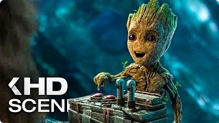 Baby Groot - Don't Push This Button Clip (2017) Guardians of the Galaxy Vol. 2