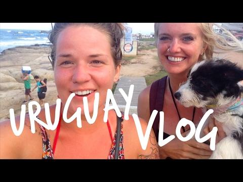 Uruguay Vlog || arriving in Montevideo, camping in Punta del Diablo