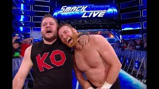 WWE 2017 BREAKING NEWS Sami Zayn Kevin Owens SMACKDOWN LIVE EXIT HUGE DETAILS  wwe results