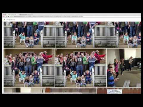 Google Photos GIF to Facebook