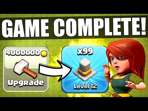 I HAVE OFFICIALLY COMPLETED CLASH OF CLANS! ✅ MAX LEVEL TOWN HALL 11!