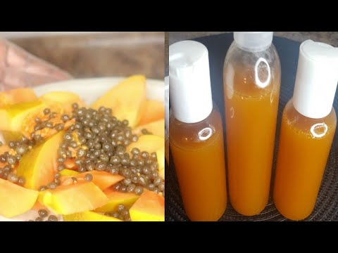 this papaya Glycerine will Even Out,fade dark scars and Brighten up your skin !!!!