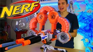 NERF WAR: MACHINE GUN NERF MOD