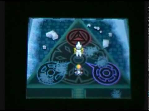 Pokemon HeartGold / SoulSilver : Complete event :  lvl 1 Dialga / Palkia / Giratina ~ Silent Ruins