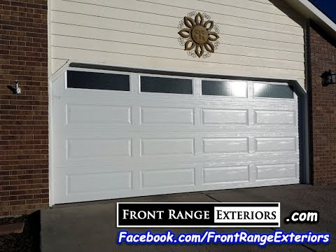 Colorado Springs Overhead Door Replacement   Front Range Exteriors   Amarr  Garage Door Contractors