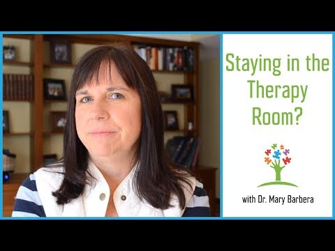 Should Your Child Be Alone in the Therapy Room? | Autism Child Therapy