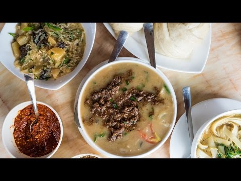 Tibetan Food in Thimphu - Bhutan Food and Travel Guide (Day 2)