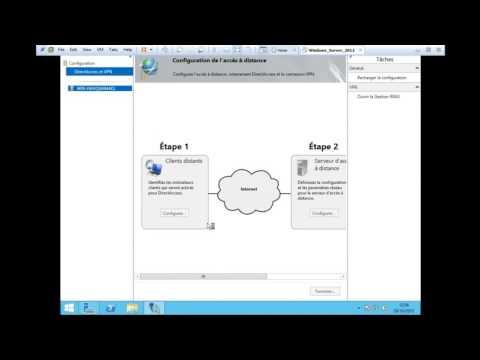 Windows Server 2012 R2 : Installer un Serveur VPN