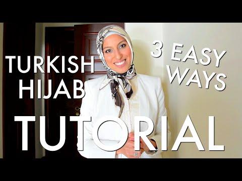 Xxx Mp4 Beautiful Turkish Hijab Style 3 Ways Tutorial Haute Hijab 3gp Sex