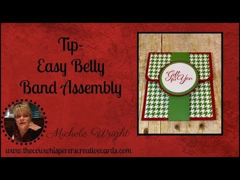 Tip - Easy Belly Band Assembly