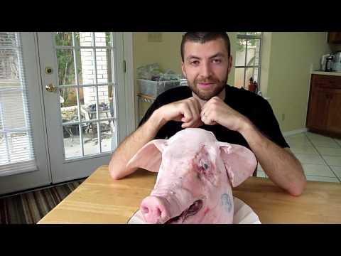 Pig Head Pozole and Crispy Baked Ears