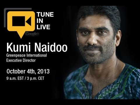 Greenpeace Update: #FreeTheArctic30 with Kumi Naidoo