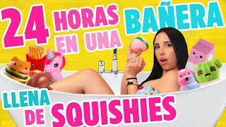 Download 24 HORAS EN UNA BAÑERA LLENA DE SQUISHIES - ME HICE PIPÍ!! 😱| Mariale Video