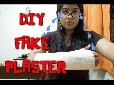 DIY-  Fake Plaster