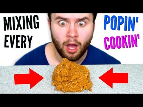 Mixing Together Every POPIN' COOKIN' Meal! - DIY Tiny Food Taste Test Experiment!