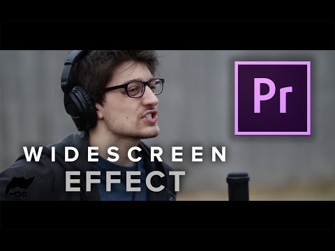 Adobe Premiere Pro CC: Widescreen Effect Tutorial Mac (EASY)