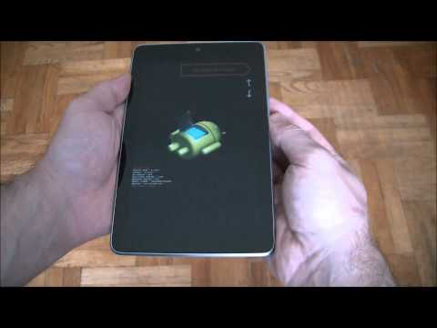How To Hard Reset A Nexus 7 Tablet