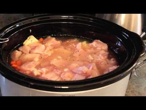 Crockpot Recipe Easy Chicken & Dumplings
