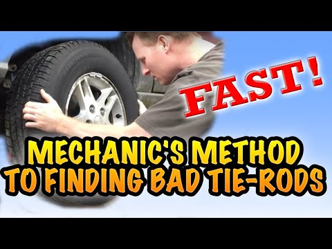 CHECKING YOUR TIE RODS, ARE THEY BAD?