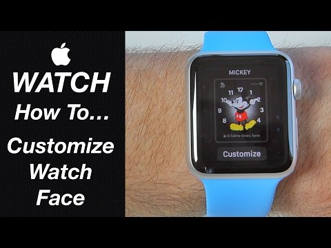 Apple Watch Guide - How To Customize the Watch Face