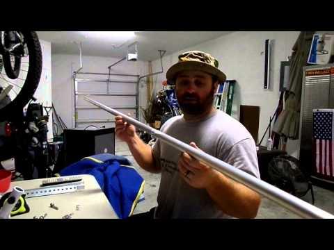 DIY Flag Pole for Yamaha Jet Boat Part 1