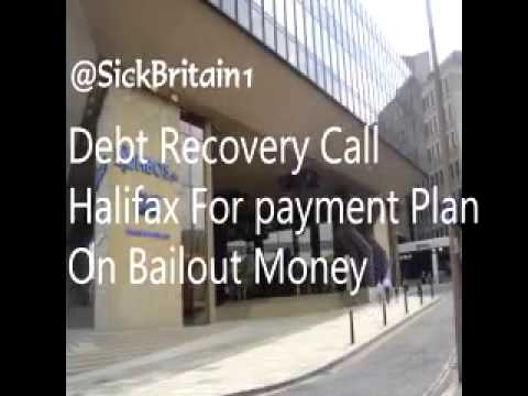 HALIFAX DEBT RECOVERY CALL FOR TAX PAYERS