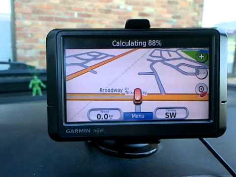 Garmin Nuvi GPS is lost!