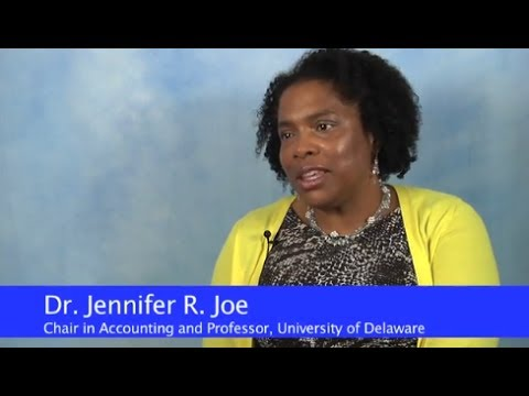 Minority Accounting Doctoral Scholar Dr. Jennifer Joe