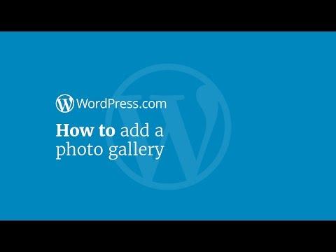 WordPress Tutorial: How to Add a Photo Gallery