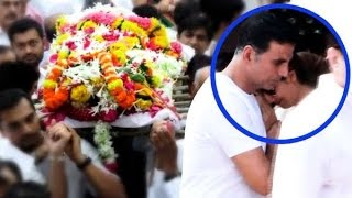 Emotional Shilpa Shetty CRYING on Akshay Kumars Shoulder At Father