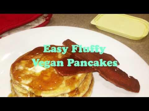 Perfect Fluffy Vegan Pancakes | Easy & Vegan