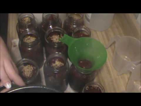 MAKING PICKLED BEETS