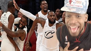 TEAM LEBRON COULD BEAT ANYBODY! TEAM LEBRON vs TEAM STEPHEN! 2018 NBA ALL STAR GAME