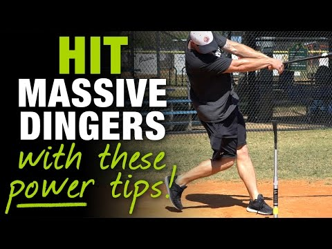 How To Hit With More Power & Drop MASSIVE DINGERS!  [How To Tuesday Ep.5]