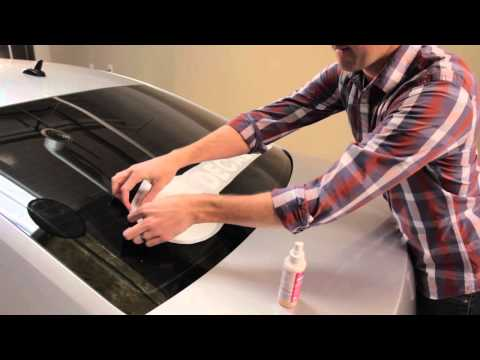 How to Apply a Decal to Your Car Window