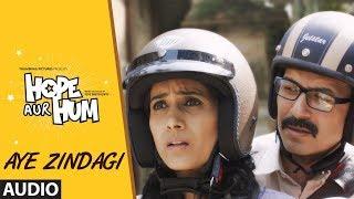 AYE ZINDAGI Full Audio | HOPE AUR HUM | Naseeruddin Shah| Sonali Kulkarni | Shaan