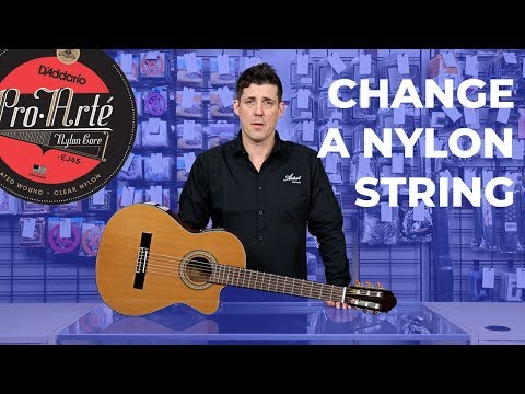 How to Restring a Nylon String Guitar?
