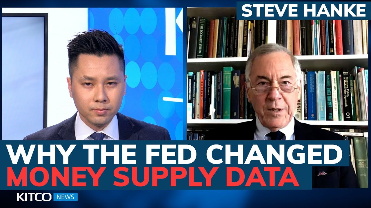Is the Fed hiding something? Why weekly money supply data just got discontinued – Steve Hanke